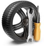 Замена колеса на дороге с выездом в САО