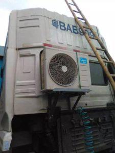 Как подзарядить кондиционер грузовика
