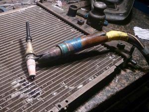 способ ремонта радиатора автомобиля