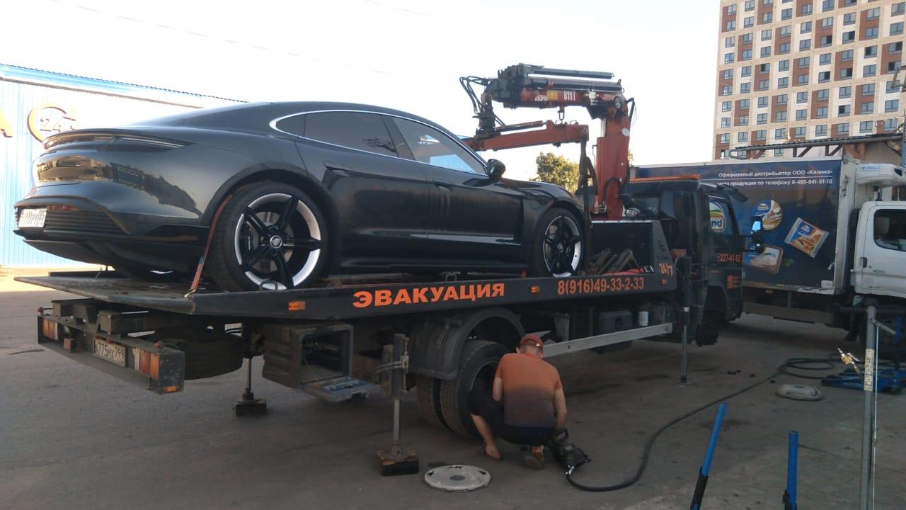 Замена шины