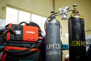 смешение газов сварка аргоном