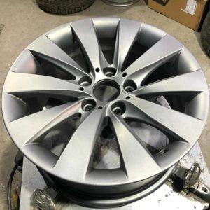 Покраска дисков в глянцевый металлик