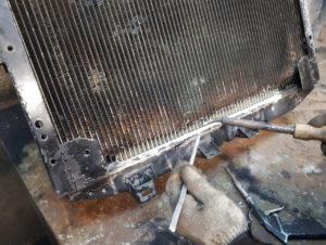 ремонт системы охлаждения с помощью аргоновой сварки